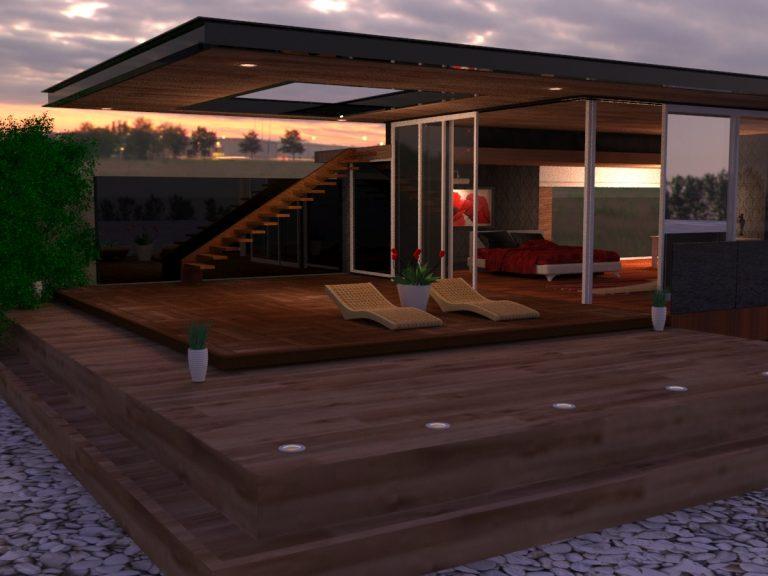 Texturing Extérieur et intérieur en 3D (3dsmax)