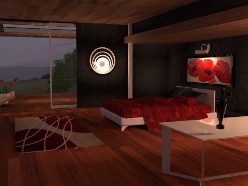 Texturing extérieur et intérieur en 3D