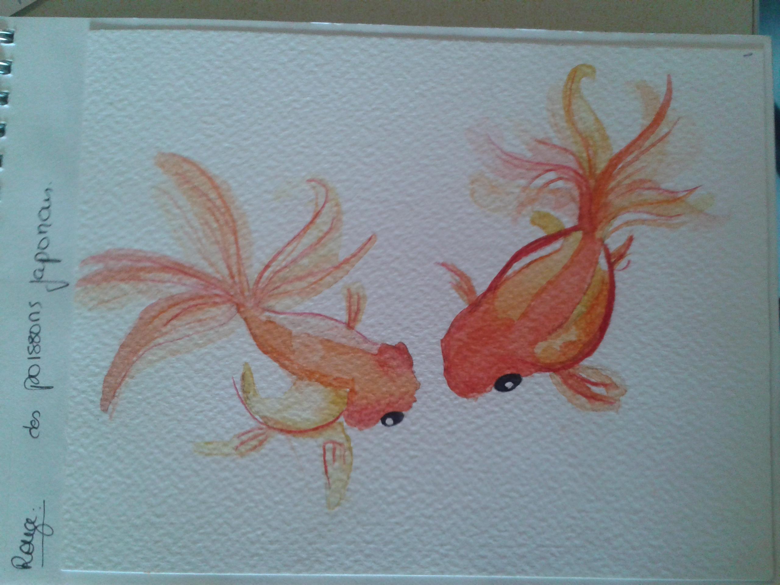 Poisson Aquarelle