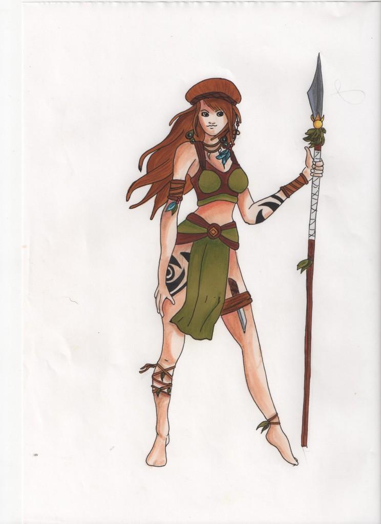 Femme indigéne